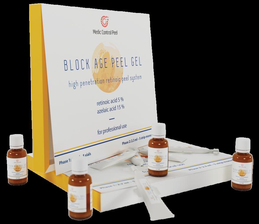 BLOCK AGE PEEL GEL - жёлтый пилинг
