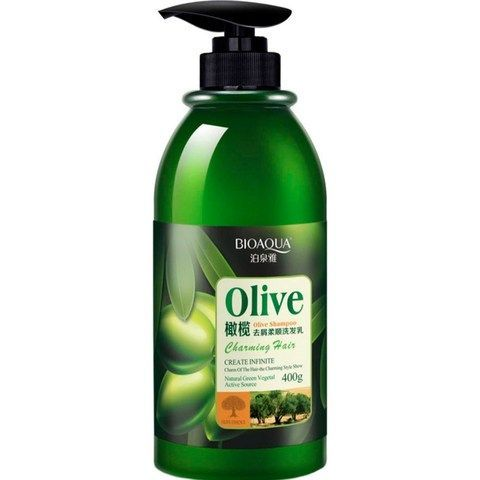 BIOAQUA Шампунь для волос с маслом оливы