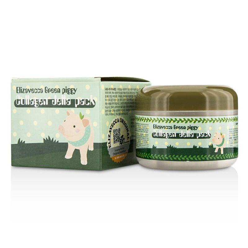 Маска для лица с коллагеном Elizavecca Green Piggy Collagen Jella Pack