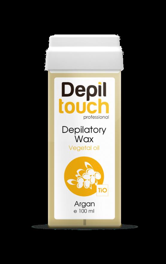Теплый воск Depiltouch Professional с маслом арганы