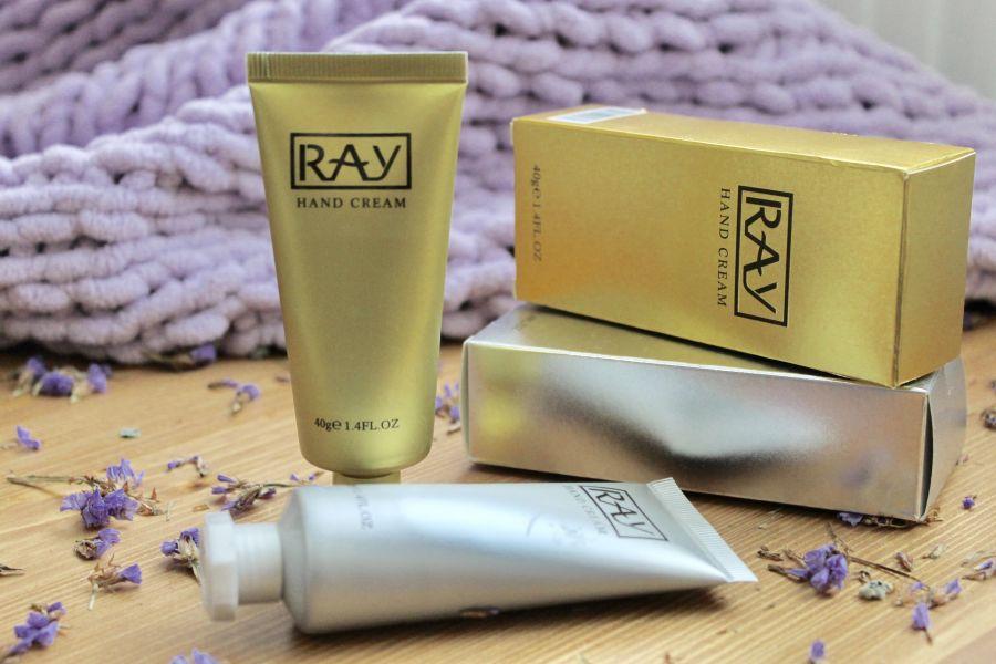 Крем для рук RAY серебро Таиланд