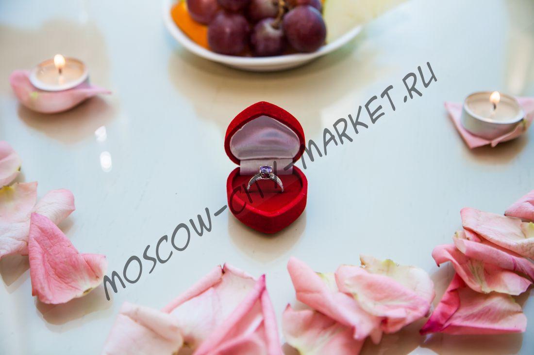 Романтическое свидание 14 февраля в люксовых апартаментах в Москва-Сити