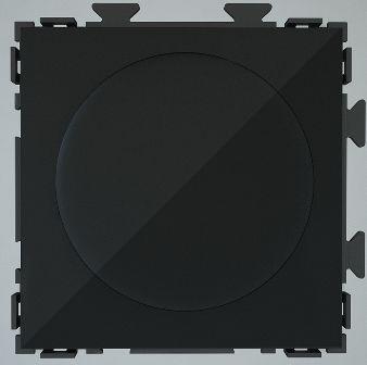 Диммер 500 Вт черный Практика PL-F33-BCM