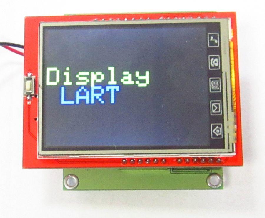 Программируемый 2,4 TFT дисплейный модуль