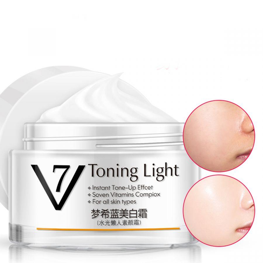 7 Toning Light Матирующий крем для лица (тонизирующий эффект + комплекс 7 витаминов)