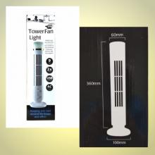 Настольный портативный Usb вентилятор-башня Tower Fan Light