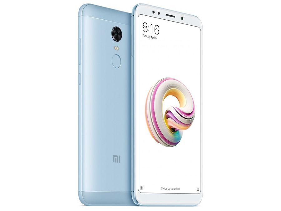 Xiaomi Redmi 5 plus голубой