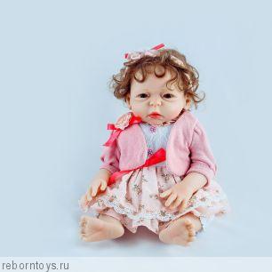 Кукла реборн  ЗОЯ -  ЭКСКЛЮЗИВНАЯ МОДЕЛЬ ТОЛЬКО У НАС!!!