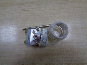 Эл_Терморегулятор  фритюра защит. 20А/250V/1,8m/F6,3/S220°С   (mod.T220-1SF-140)