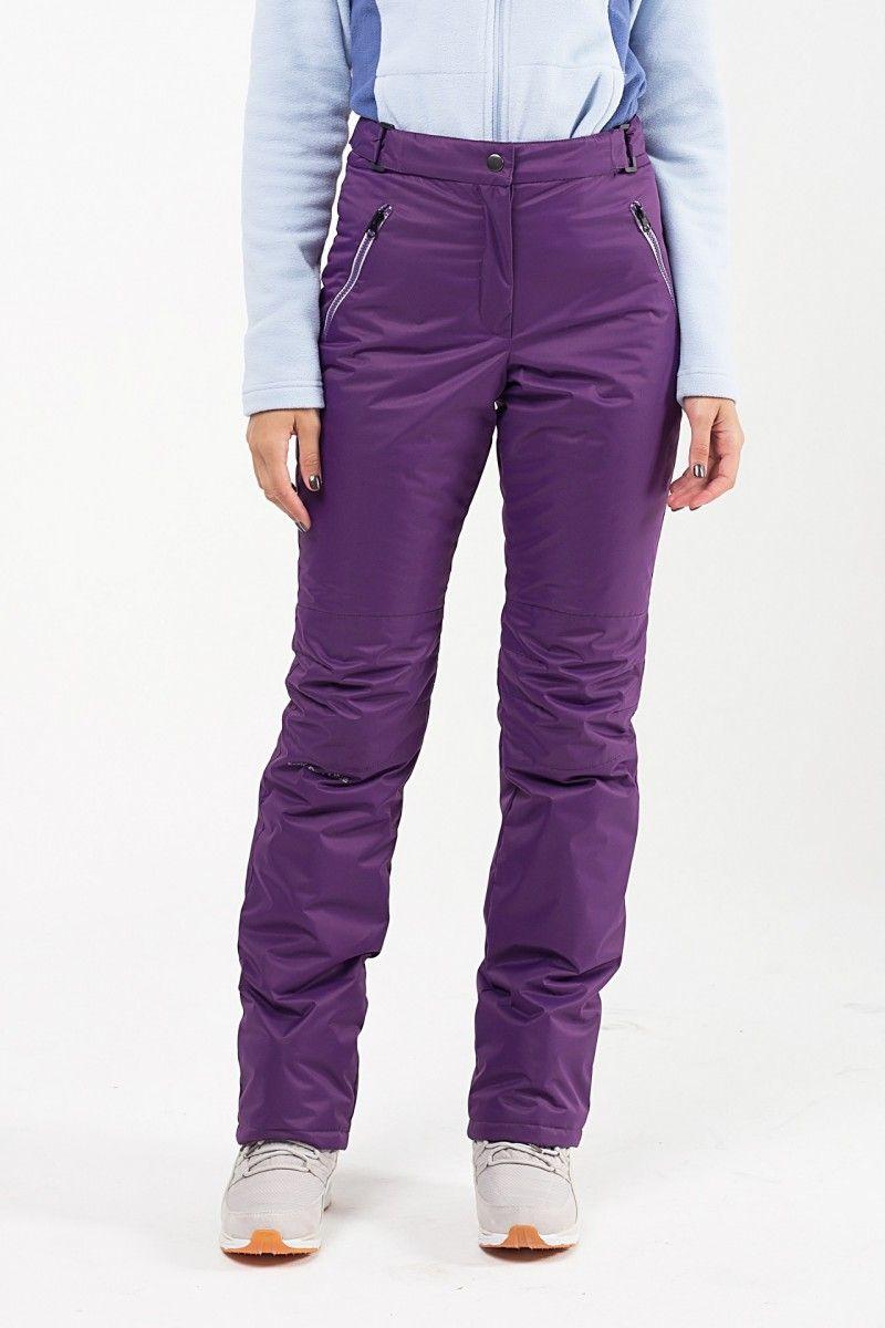 Утепленные женские брюки мембрана фиолетовый HEIDEN вид2