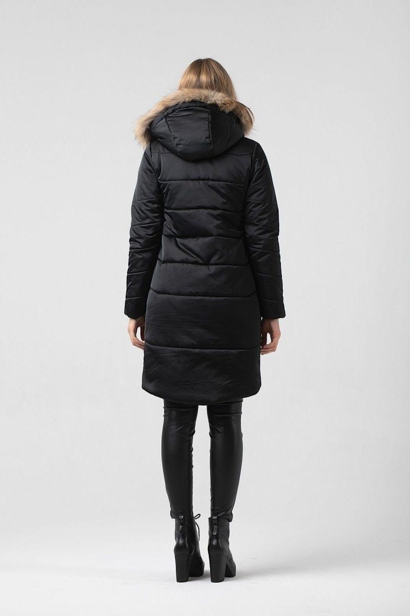 Пальто женское HEIDEN цвет черный вид4