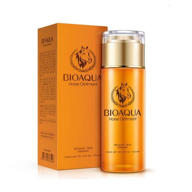 BioAqua Horse Oil Ointment Miracle Scin Essence Увлажняющая сыворотка для лица 120 мл