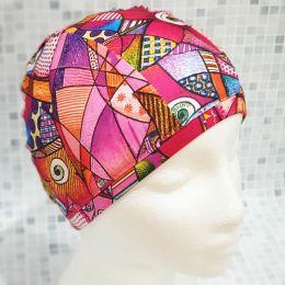 Узор 2 Текстильная шапочка для плавания