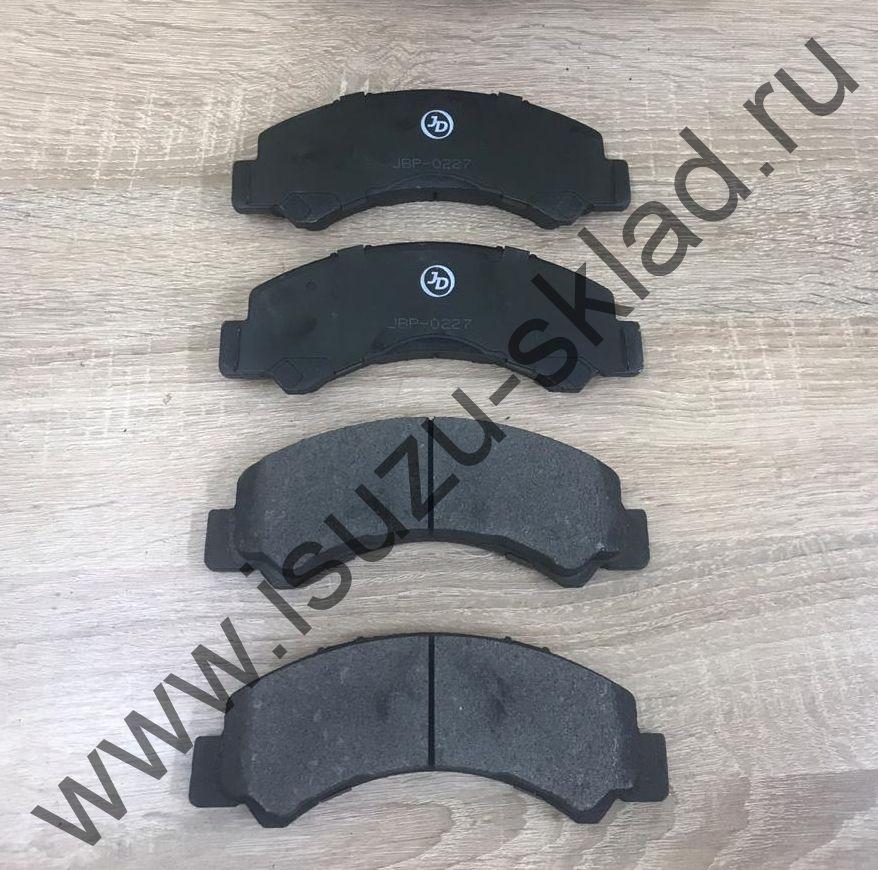 Колодки тормозные передние дисковые NLR85 / NMR85