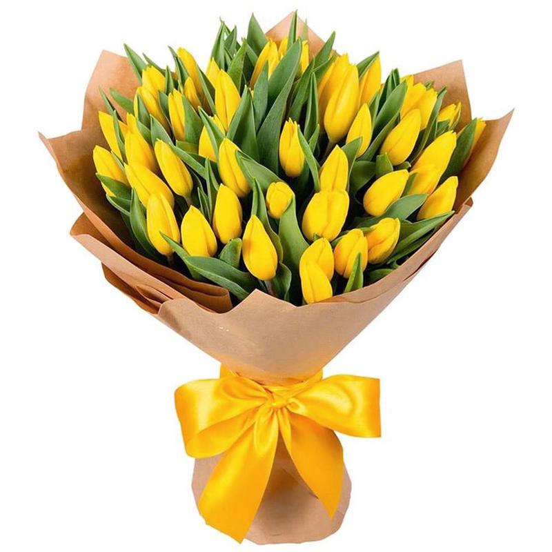 51 тюльпан (желтый).