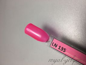 LN135 MALINA гель лак 14 мл