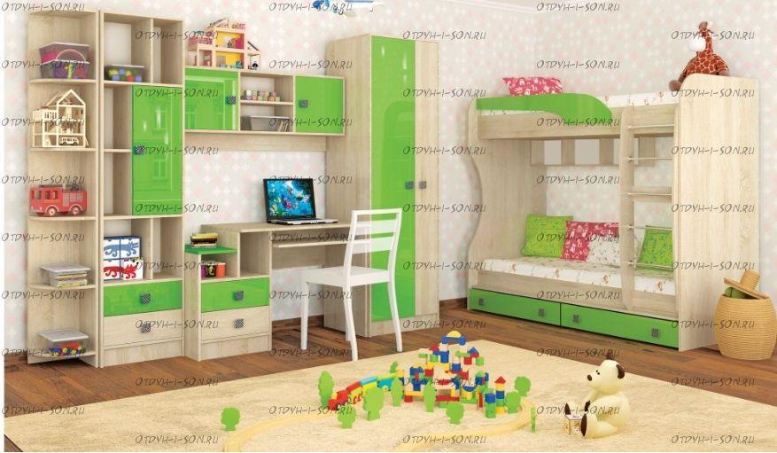Детская комната Колибри №1