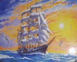 Картина по номерам Корабль в закате W848