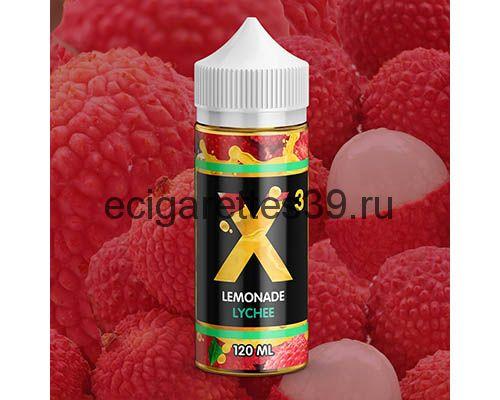 Жидкость X-3 Lemonade Lychee , 120 мл.