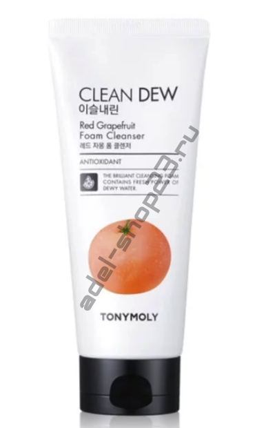 Tony Moly - Очищающая пенка для умывания с красным грейпфрутом