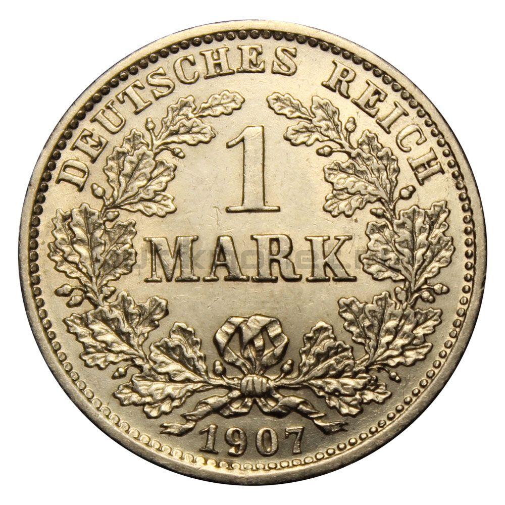 1 марка 1907 Германская Империя