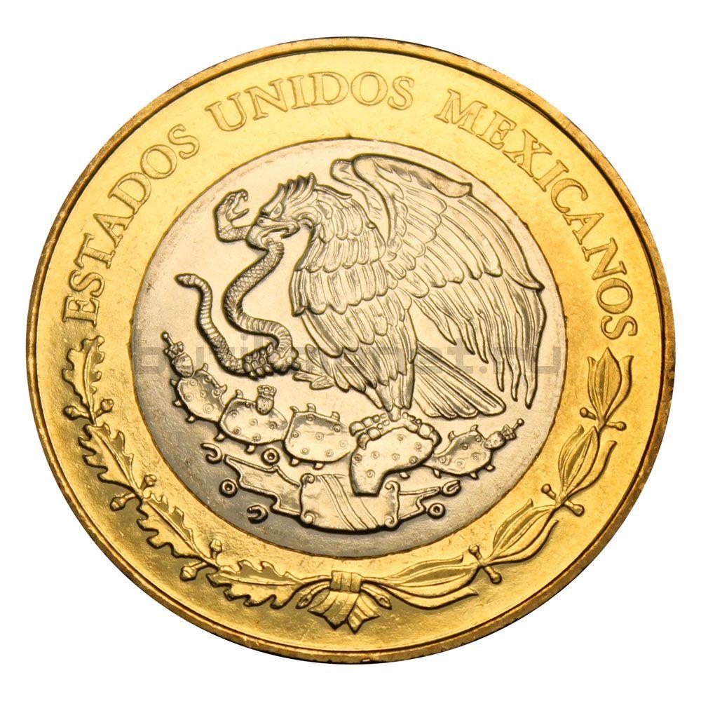 20 песо 2015 Мексика 100 лет ВВС Мексики