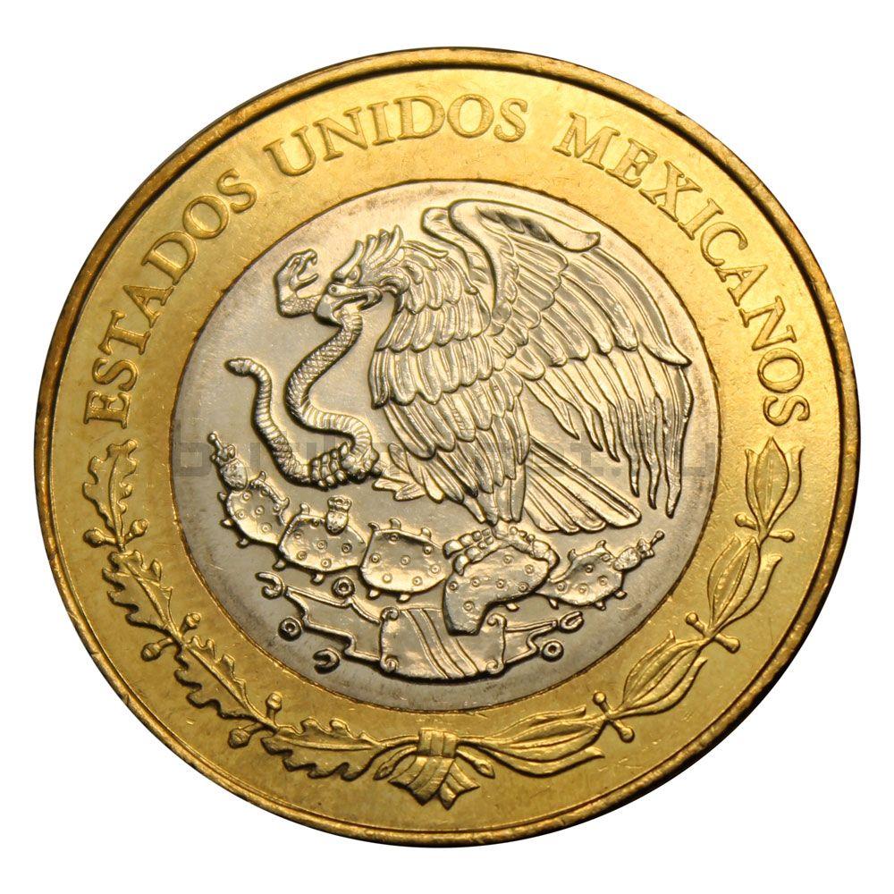 20 песо 2017 Мексика 100 лет конституции Мексики