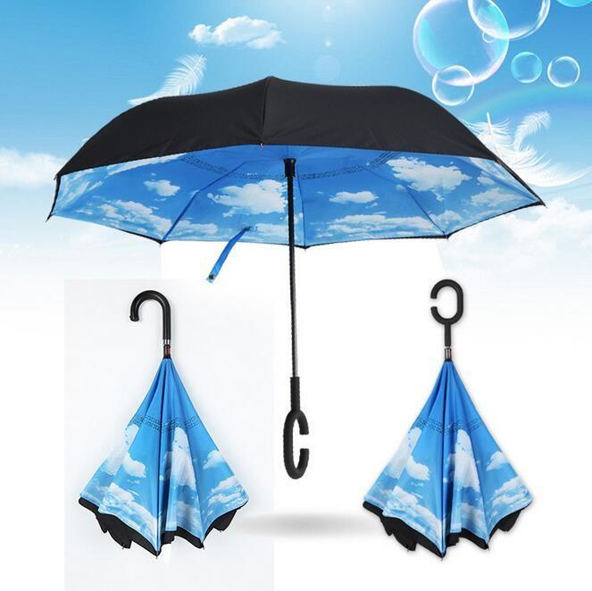 Зонт наоборот Облака