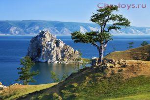 Картина по номерам Пейзаж с горами W748