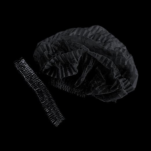 """Медицинская шапочка """"Шарлотта"""" черная"""