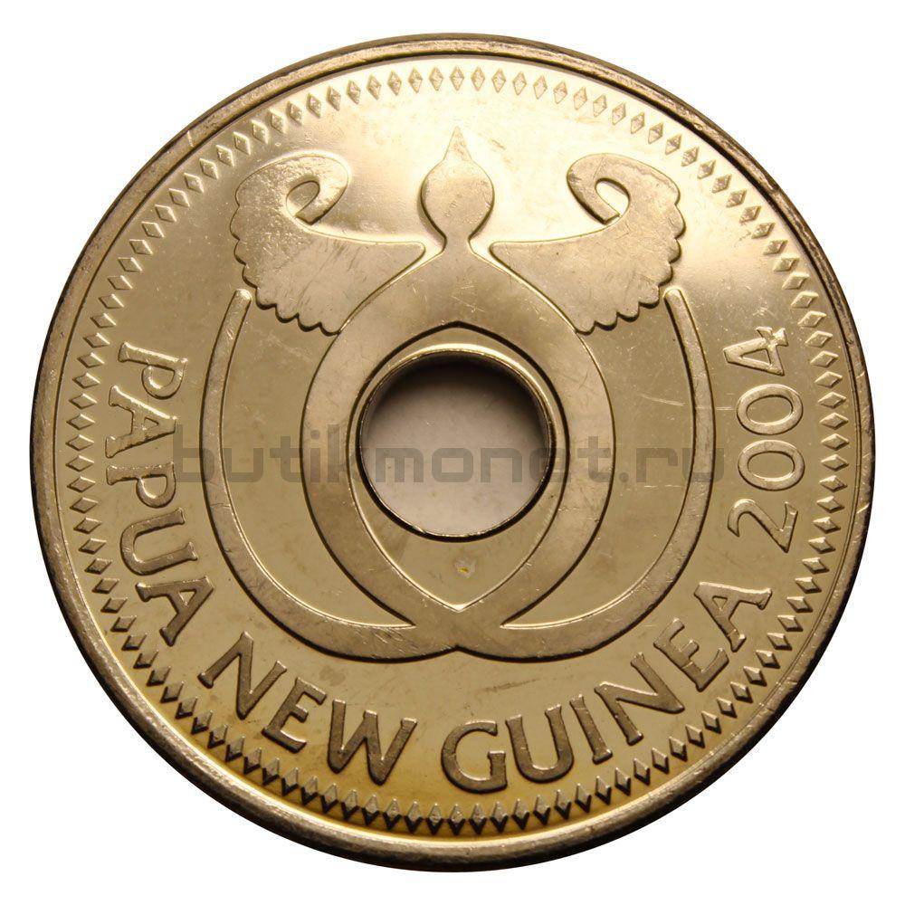 1 кина 2004 Папуа-Новая Гвинея