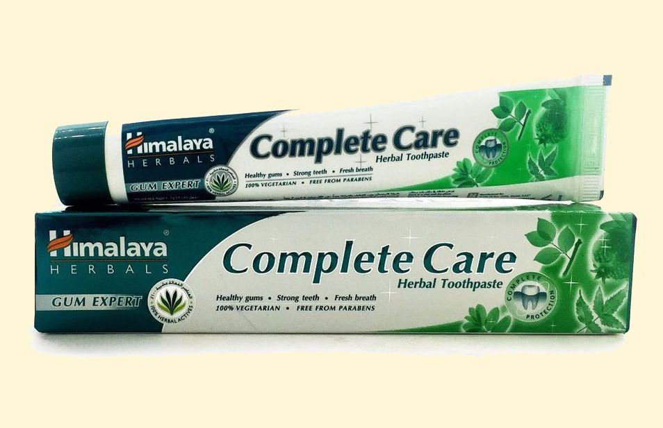 Индийская зубная паста Himalaya Complete Care 40 г (отправка из Индии)