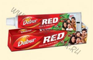 Индийская зубная паста Dabur Red (Дабур Ред) 50 г
