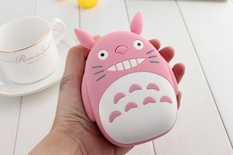 Внешний аккумулятор Totoro Power Bank (Цвет: Розовый)