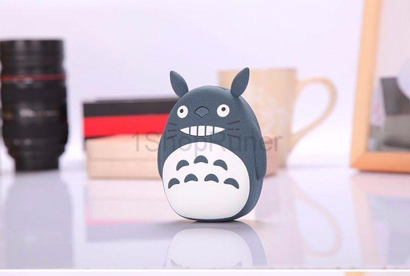 Внешний аккумулятор Totoro Power Bank (Цвет: Темно-серый)