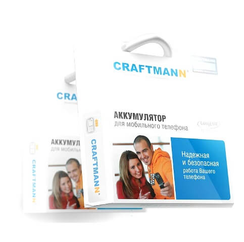 батарея CRAFTMANN iPhone 5