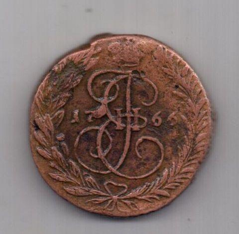 2 копейки 1766 г. XF ЕМ