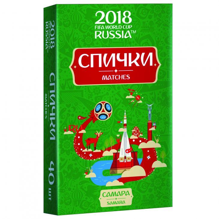Спички для пикника  ЧМ-2018 Самара