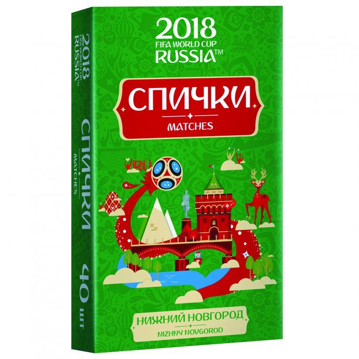 Спички для пикника  ЧМ-2018 Нижний Новгород