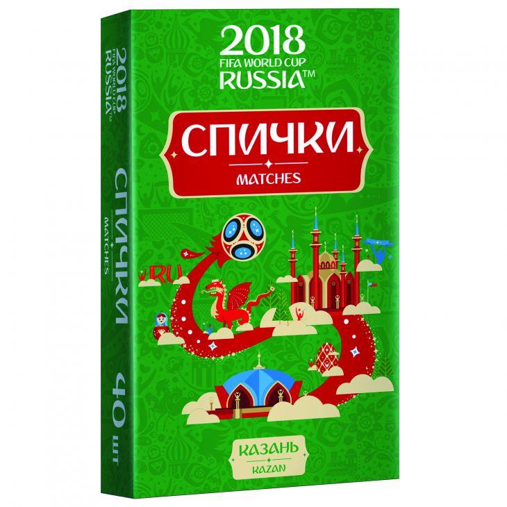 Спички для пикника  ЧМ-2018 Казань
