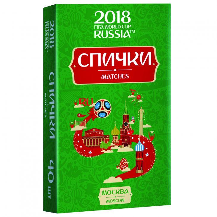 Спички для пикника  ЧМ-2018 Москва