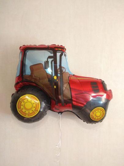 Трактор фольгированный шар с гелием