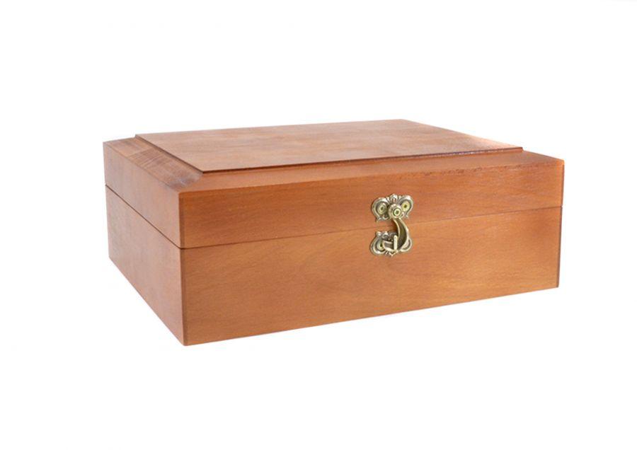 Подарочная коробка из натурального дерева (Дуб, Бук, Ясень)