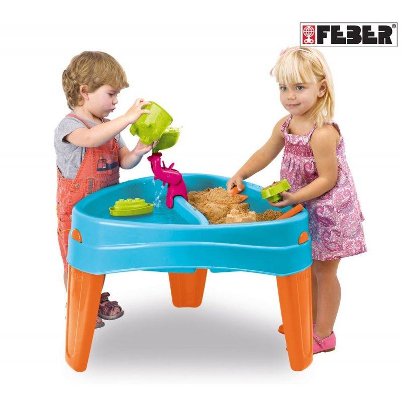 Песочница-водный стол Play Island Feber 10238