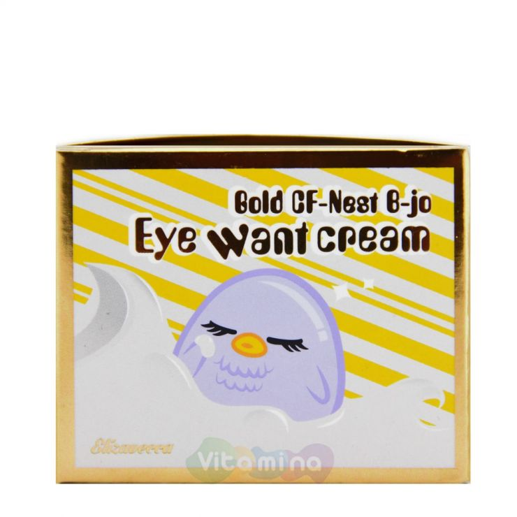 Омолаживающий крем для глаз с экстрактом ласточкиного гнезда Elizavecca Gold CF-Nest b-jo eye want cream
