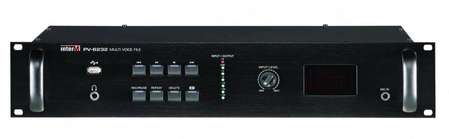 PV-6232 Inter-M Цифровой магнитофон для записи и воспроизведения MP3 файлов