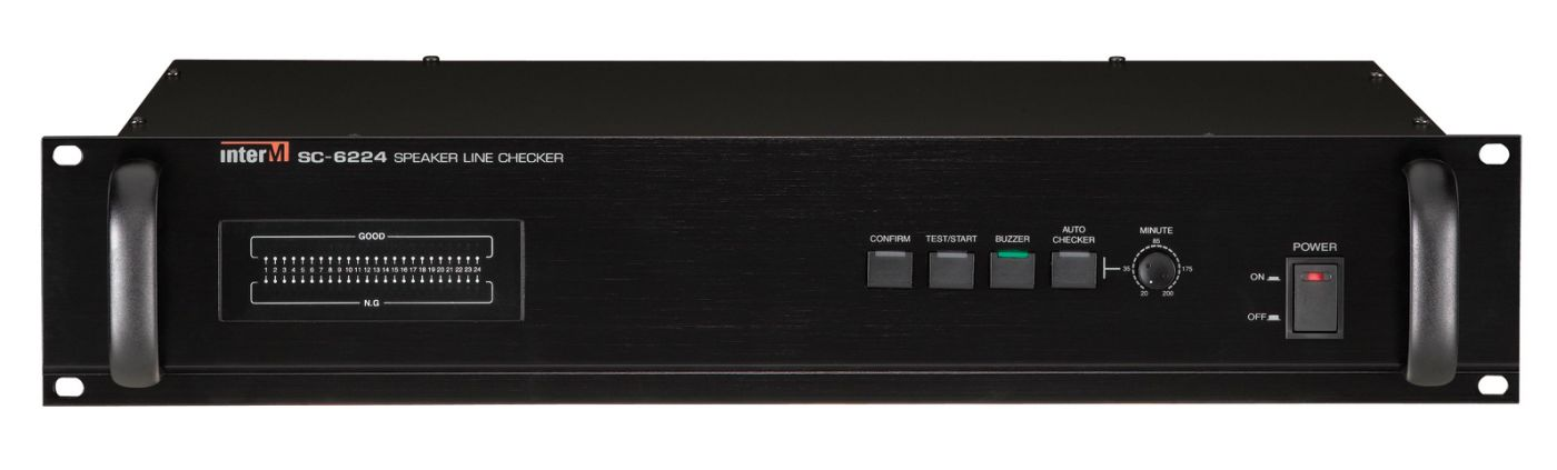 SC-6224 Inter-M Блок контроля трансляционных линий