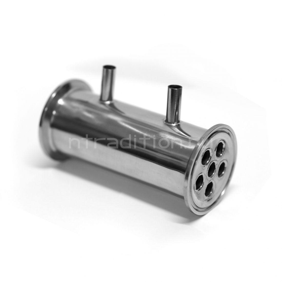 """Мини-дефлегматор 2"""", 130 мм (трубки 6*12)"""