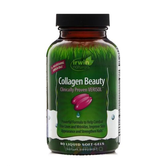 Irwin Naturals Collagen Beauty Коллаген, 80 капсул