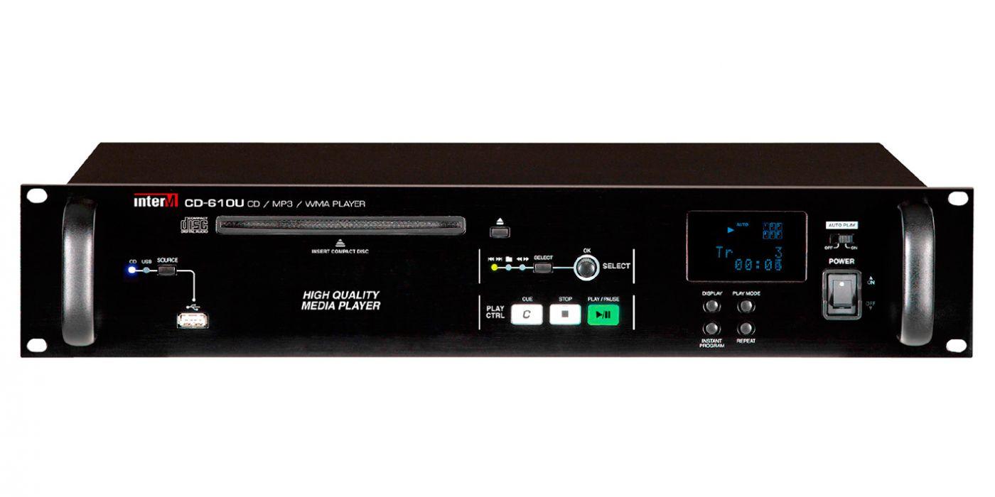 CD-610U Inter-M Проигрыватель CD/MP3 дисков